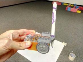 edison robots - simple pen holder robotics drawbot edison robot meet edison tinkercad