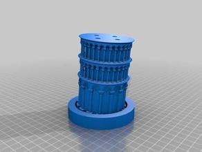torre pendente di pisa - sezionato stampa monoprice selezionare mini v2 edifici e strutture torre pendente torre pendente di pisa monoprice mini monoprice selezionare mini pisa