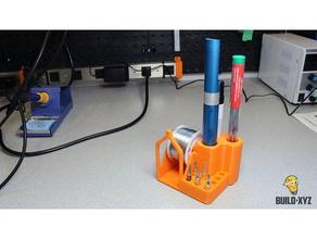 distributeur de brasure xl de l'électronique soudure titulaire la soudure de la station la soudure la soudure de l'aide station de soudure