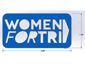 women tri small tri-tat stencil signs & logos iron man tri-tat triathlon women tri