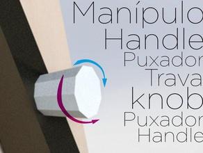 man pulo ene gono knob replacement parts door handle handle key knob maniple man pulo puller puxador sextavada trava