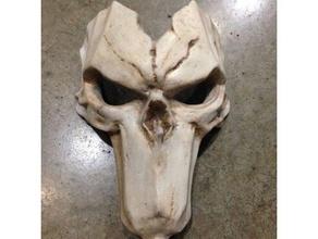 morte - máscara de tamanho completo usável traje cosplay darksiders darksiders 2 darksiders ii de morte máscara da morte jogos de tiros o dia das bruxas cavaleiro cavaleiros máscara reaper thq nórdicos