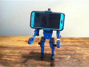 phone head mobile phone man phone bracket phone holder phone stand puppet robot universal universal mount universal stand universal spool