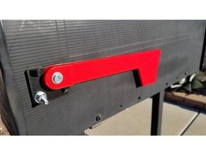 mailbox flag repair 3d printing abs mailbox mailbox bracket mailbox flag
