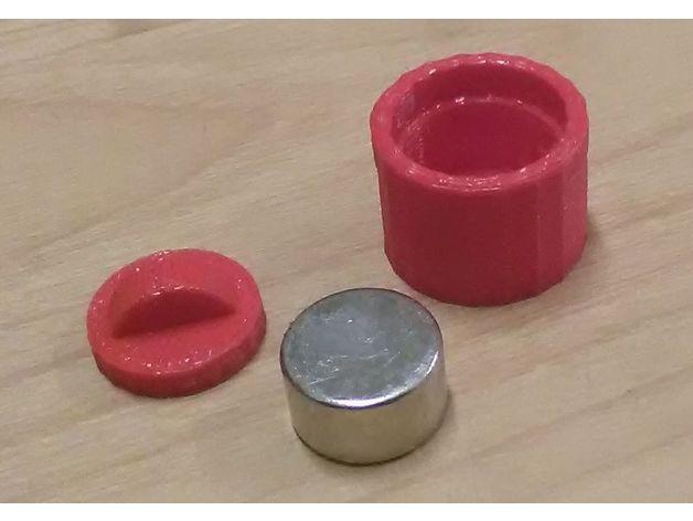 neodinium magnet racks 3d