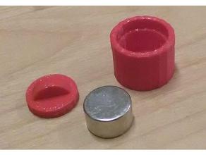 neodinium magnet racks 3d printing magnet rack szmg 3d project
