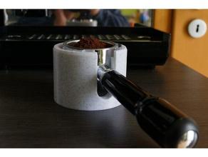 tamper station quick mill porta filter espresso machine kitchen & dining coffee tamper espresso tamper portafilter portafilter holder portafilter stand quickmill quick mill tamper tamper station tamp station