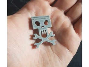 jolly wrenches - keychain keychains 3d printing arduino cars crop crophopper disney dottie duster' fly flying hex key wrenches jolly jolly wrenches jolly roger keychain movie planes racer replica walt disney walt disney world wrench wrenches