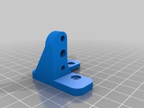 cr10 bltouch mount - oem fang mod compatible 3d printer accessories bltouch bltouch classic bltouch mount cr10 cr10s cr10s4 cr10s5 cr10 printer creality cr-10 fang mod mount oem oem fang