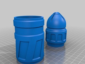 wh40k bolter round container props 40k space marine warhammer warhammer40k warhammer 40000 warhammer 40k