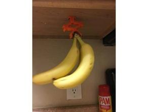 ultimate banana holder kitchen & dining banana bananas banana grabber banana holder banana hook mr banana grabber