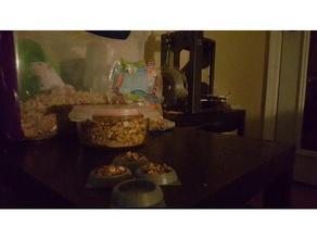 food dish hamster mouse gerbil small pet rodent pets bowl pet food pet food bowl pet food dish stable