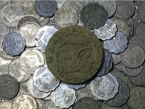 king nebuchadnezzar ii coin coins badges ancient ancient coin ancient currency ancient money ancient near east asllexicon babylon dd dnd dungeons dungeons dragons historic coin history iraq meshmixer mesopotamia mesopotamian middle east middle east coin mmu nebuchadnezzar coin olsen prusa role playing game rpg todd todd olsen