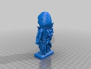 fortnite-raven mini supp 3d printing fortnite battle royal