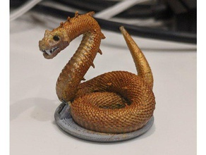 gloomhaven monster giant viper toy game accessories dnd dnd miniature