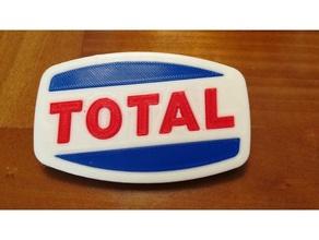 total logotipo de 1963 signos y logotipos coche garaje el logotipo logotipos maqueta en miniatura antiguo logo el de gasolina escala modelo a escala signo total