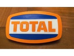 total logotipo de 1970 signos y logotipos coche garaje el logotipo logotipos maqueta antiguo logo el de gasolina escala modelo a escala signo total
