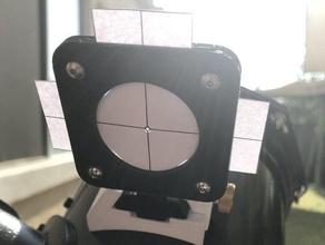 solar finder scope remix - captive nuts dovetail finder scope solar astronomy solar finder telescope telescope accessory