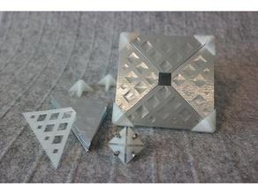 octahedral radar reflector radar target enhancer electronics radar rcs reflector
