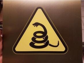 dikkat uyarı işareti çıngıraklı yılanlar işaretler logoları kaçının dont sokak tabelası sokak işaretleri texas dikkat et