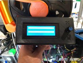 reprapdiscount smart controller snap case 3d printer parts reprapdiscount case reprapdiscount lcd