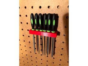 x6 needle file pegboard holder tool holders boxes file holder needle files needle file holder pegboard adapter pegboard clip pegboard hook pegboard mount pegboard tools
