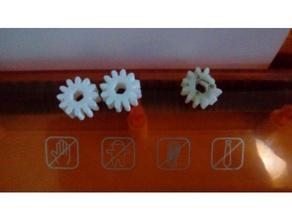 ingranaggio mini paper shredder di sostituzione parti taglierina