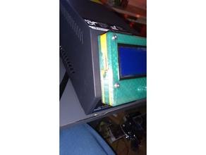 display lcd 12864 mount cr10 control box 3d printer accessories controlbox controlbox cr10 control box cr10 cr10s cr10 printer creality cr10 lcd12864 lcd mount
