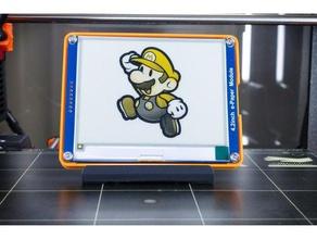 waveshare epaper 42inch Modul Stoßstange v1 - Elektronik Fall lcd mount Bildschirm