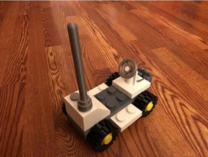 lego 886-1 space buggy vehicles flexible filament minifig rover