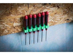 screwdriver holde wall mount tool holders boxes 3didea hand tools screwdriver holder tool holder