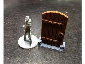 zombicide peste negra en la puerta de token de juguete juego accesorios juego de mesa