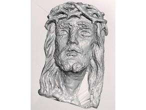 jesus face base scans replicas high resolution jesus christ religion scanned