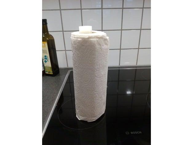 paper towel holder 3d pri