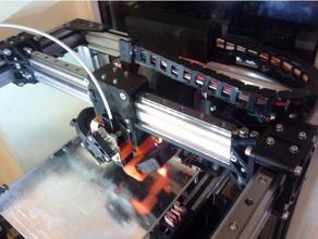 redbot y-carriage mgn12 rails 2040 v-slot profile optical mechanical endstop 3d printer parts d-bot guide re-d-bot