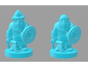 dwarfclan bondi helmet toy game accessories 18mm boardgame boardgames dwarves fantasy miniature pocket tactics rpg wargames wargaming wayfarer