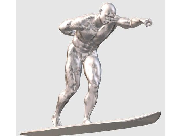silver surfer sculptures