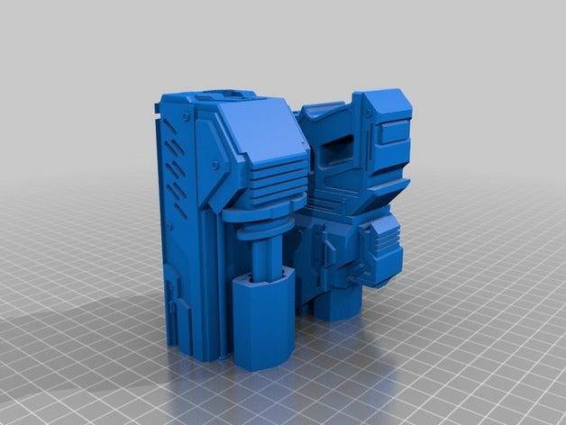gun split printing toy ga