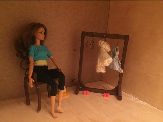 doll furniture stand hang