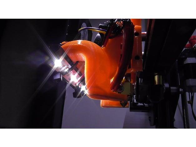 led bracket 3d printer ac