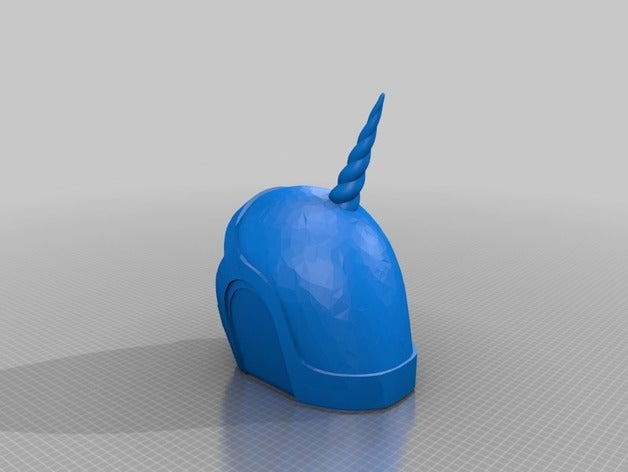 unicorn helmet 3d printin