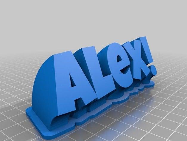 alex office customized