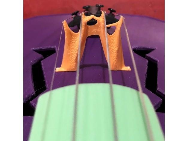 generative violin bridge