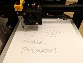 penpencilmarker mount creality ender 3 cr-20 3d printer parts