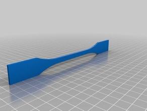 atsm d638 dual extrusion 3d printing tests