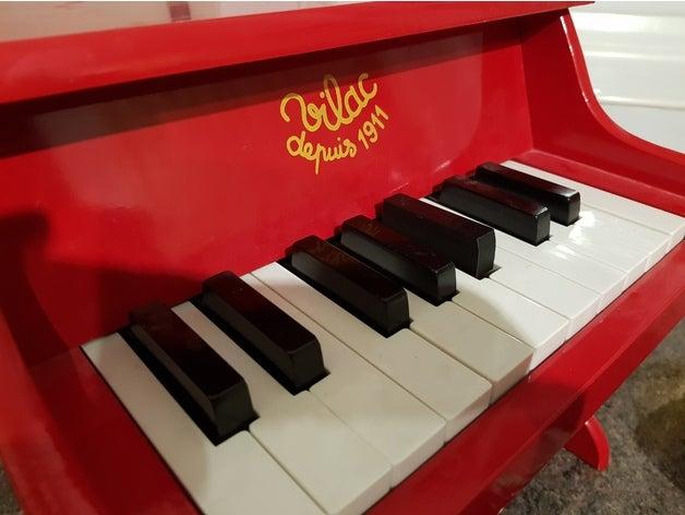 vilac toy piano key repai