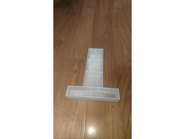 parts box tray t-type too