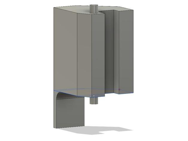 microwave door lever pana