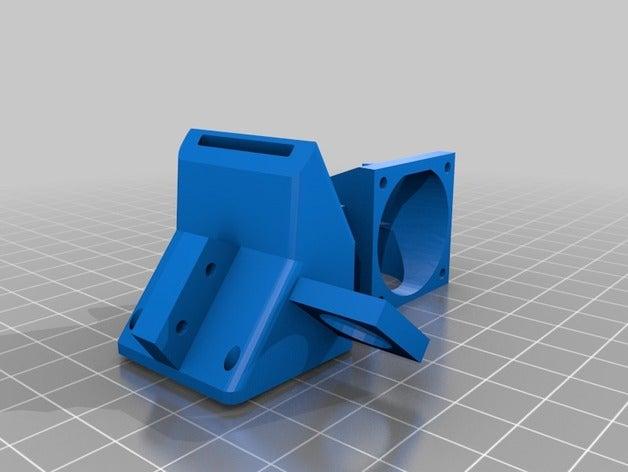 fan duct sensor mount 3d