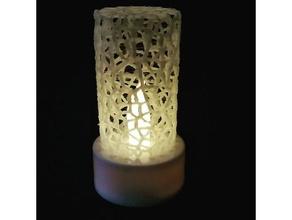 voronoi light art 3d voronoi candle candles candle holder led light lighting style voronoi tealight tealightholder tealight holder tea light candle voronoi design voronoi mesh voronoi style